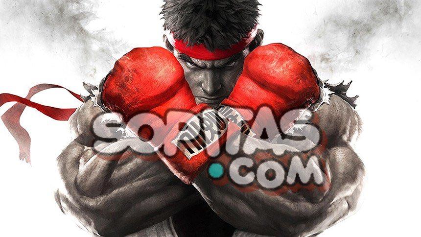 Street Fighter logo Sopitas