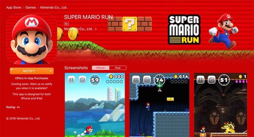 Supe Mario Run