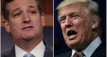 ¿No que no? A la mera hora el republicano Ted Cruz sí votará por Trump
