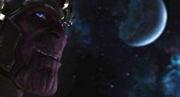 Josh Brolin ensaya su papel de Thanos en el set de Avengers: Infinity War