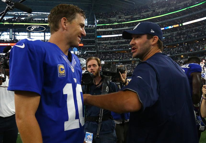 Tony Romo es necesario para el triunfo de los Dallas Cowboys