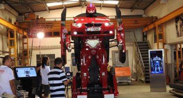 Nerdgasmo: genios crean a un Transformer real