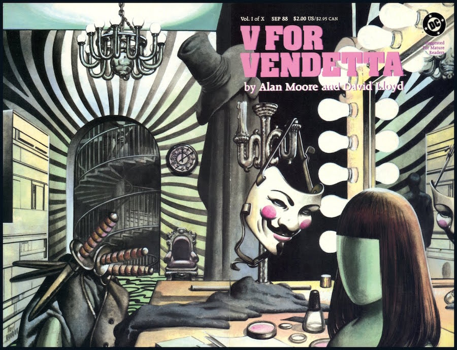 Alan Moore - V for Vendetta