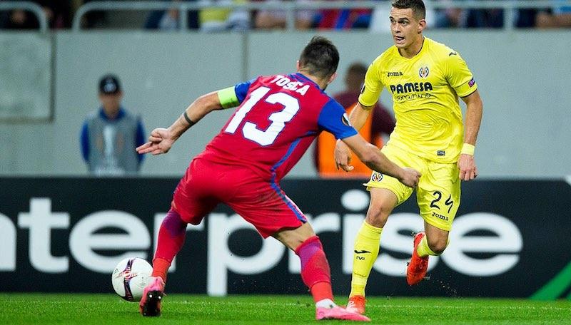Villarreal contra Bucarest en Europa League