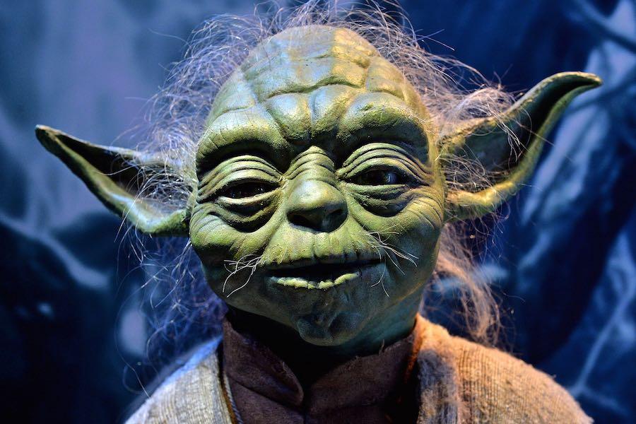 Marioneta de Yoda en Star Wars