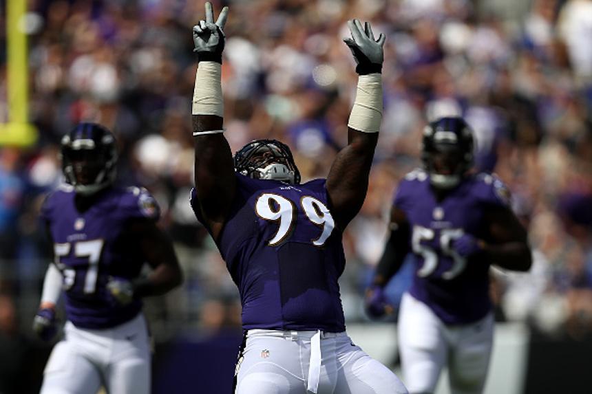 Za'Darius Smith, linebacker de los Ravens