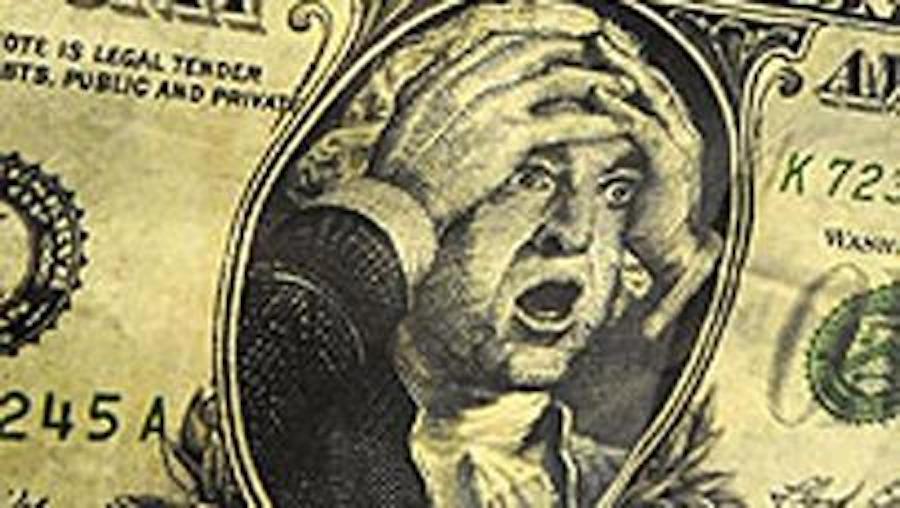 Dólar - Meme - Espantado.