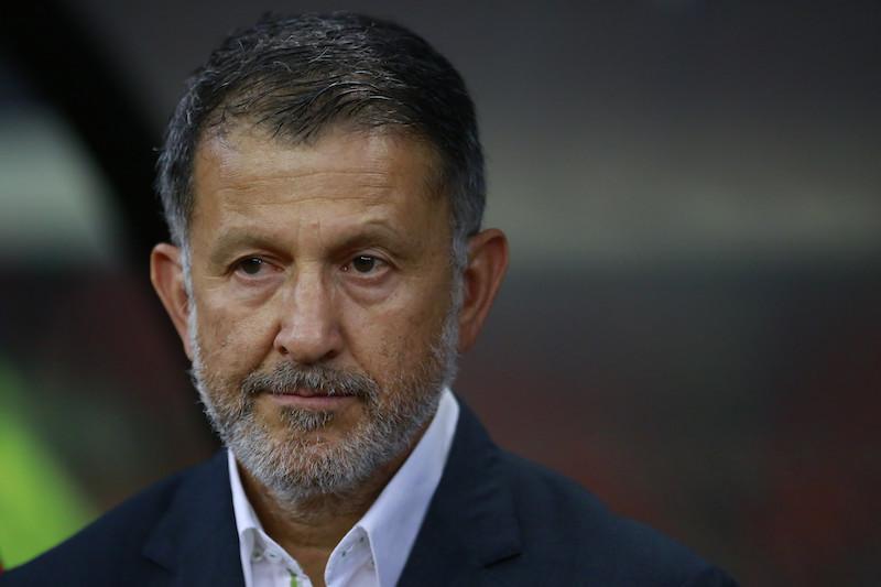 Juan Carlos Osorio serio