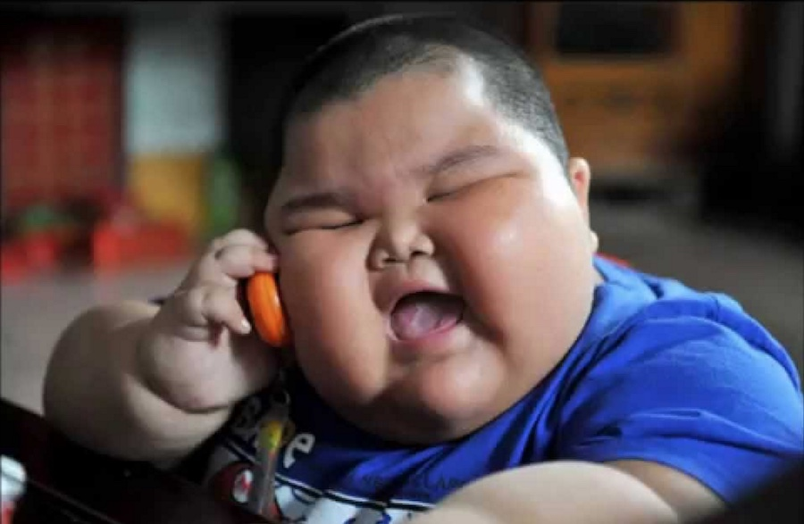 Meme - Niño asiático - Teléfono