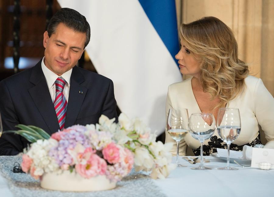 Angelica Rivera - Enrique Peña Nieto.