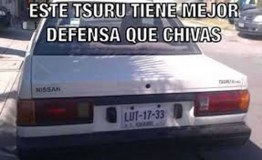 Meme - Tsuru - Chivas.