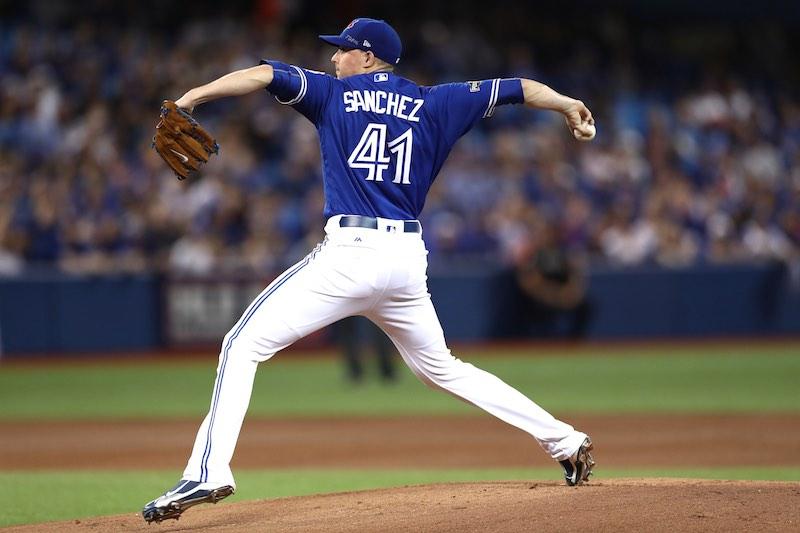 Aaron Sanchez abre con Toronto