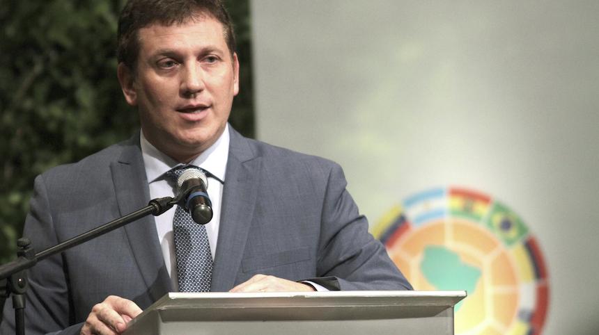 Alejandro Dominguez llegó el año pasado a la Conmebol