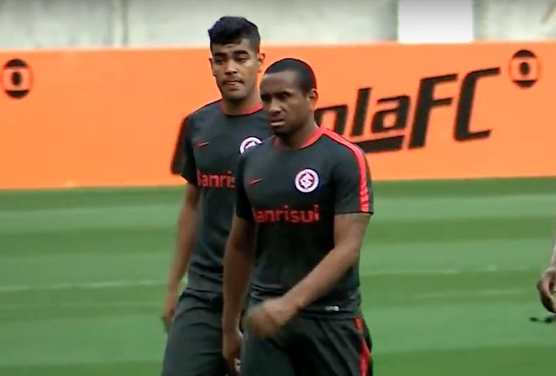 Anderson de Porto Allegre enojado