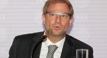SRE remueve a Andrés Roemer como embajador ante la UNESCO