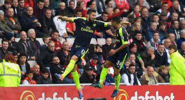Arsenal hunde al Sunderland y se coloca como líder de Premier League