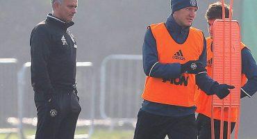 ¡Ya regresó! Schweinsteiger vuelve al primer equipo del Manchester United