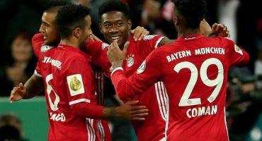 Bayern Munich 'sufre' pero avanza a Octavos de Final en la Pokal