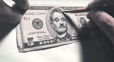 Subiendo el valor del dólar: así se convierte un Abraham Lincoln en Bill Murray