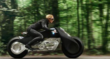 BMW quiere que te olvides de los cascos con su nueva moto futurista