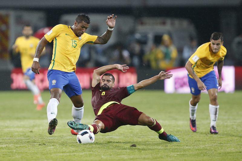 Brasil juego contra Venezuela