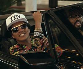 Bruno Mars estrenó 24k, nuevo sencillo de su próximo disco