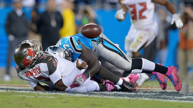 Buccaneers versus Panthers Monday Night
