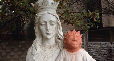LOL: ¡Restauran la cabeza de un niño Jesús y el resultado es una joya!
