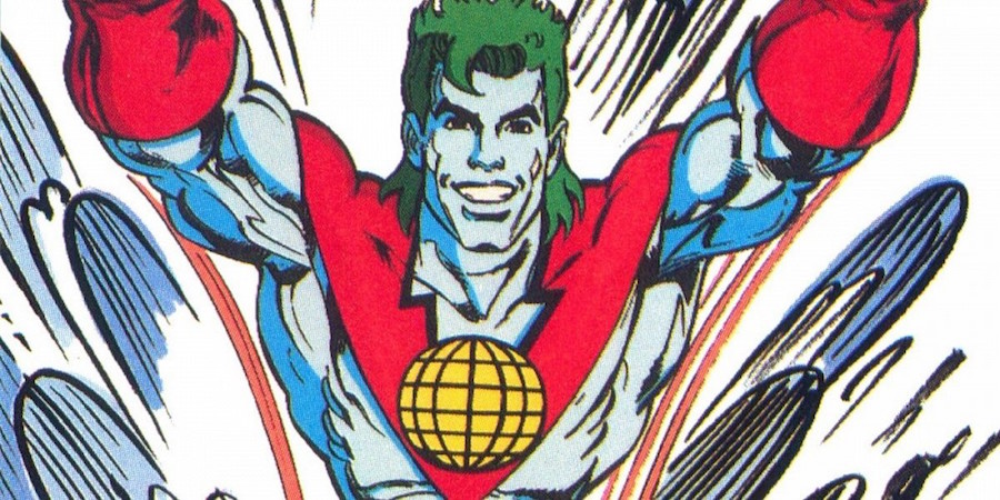 Superhéroe Captain Planet