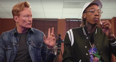 Wiz Khalifa y Conan O'Brien se fuman un churro y juegan 'Gears of War 4'