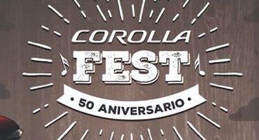 ¡Llega a nosotros el Corolla Fest y acá están sus boletos!