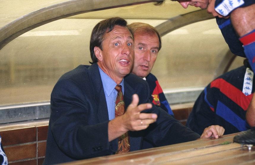 Cruyff fue importante para el barcelona