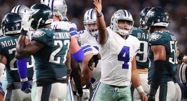 Prescott lidera a los Cowboys a la victoria sobre los Philadelphia Eagles