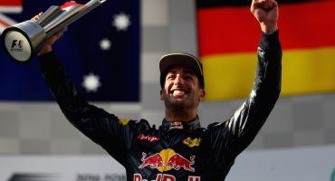 Daniel Ricciardo sorprende y triunfa en el Gran Premio de Malasia
