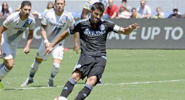David Villa le sugiere a Iniesta unirse al New York City FC