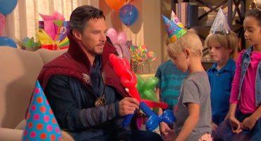 Doctor Strange dice no a los Avengers para hacer... ¿fiestas infantiles?