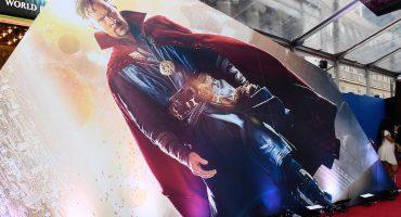 Así se vive la alfombra roja de Doctor Strange en Hollywood