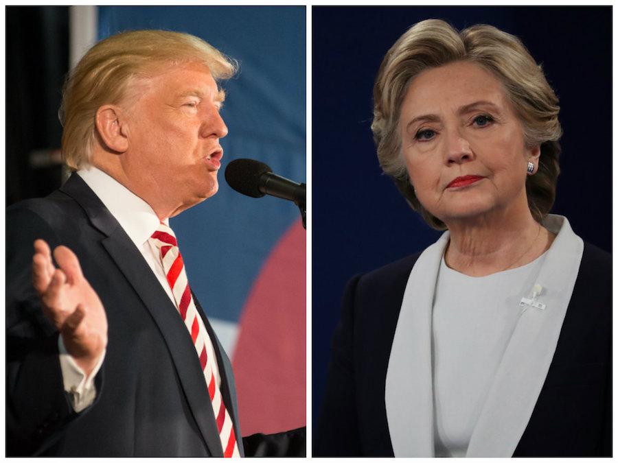 Donald Trump y Hillary Clinton se alistan con rumbo al tercer debate presidencial