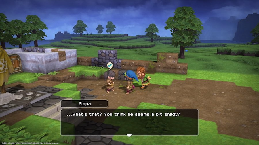Dragon Quest Builders Gameplay