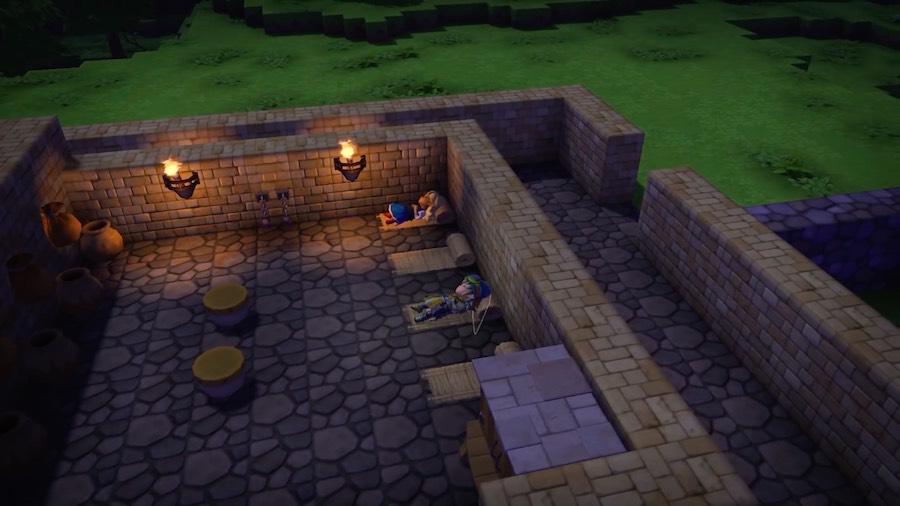 Dragon Quest Builders Dormir