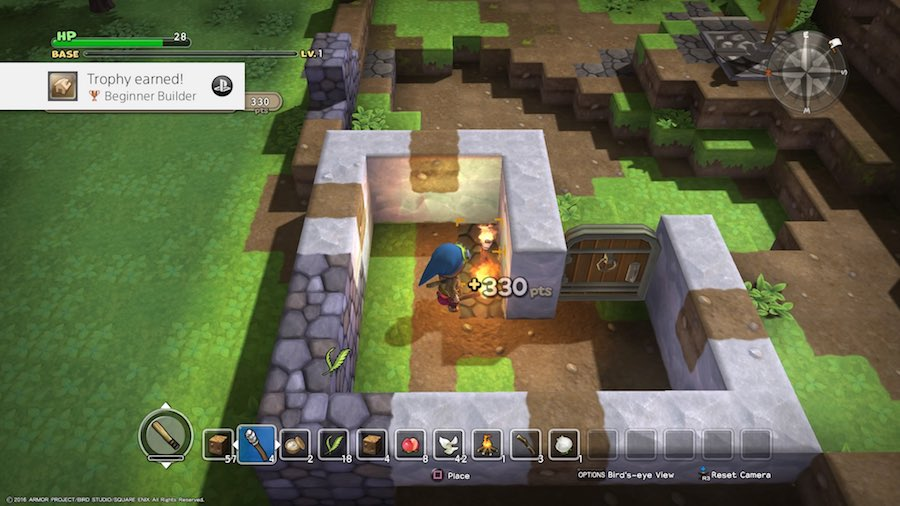Dragon Quest Builders Gameplay 2