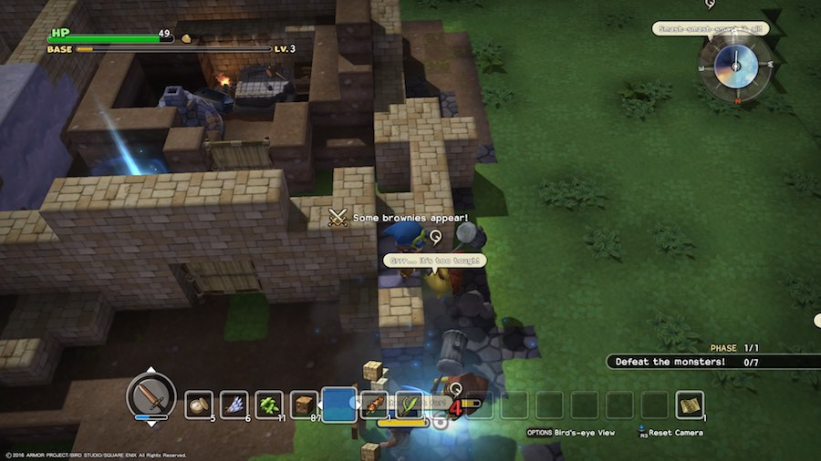 Dragon Quest Builders Monstruos