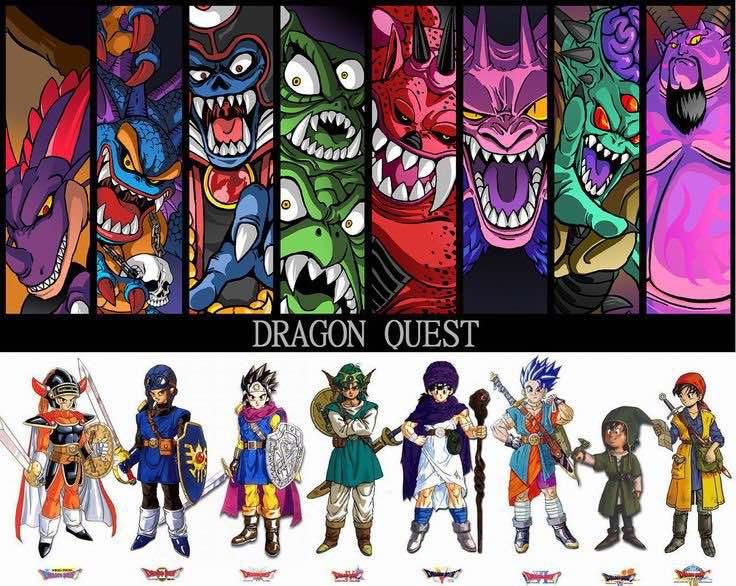 Dragon Quest Franquicia
