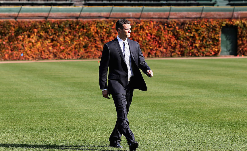 Theo Epstein ha hecho magia con los Cubs