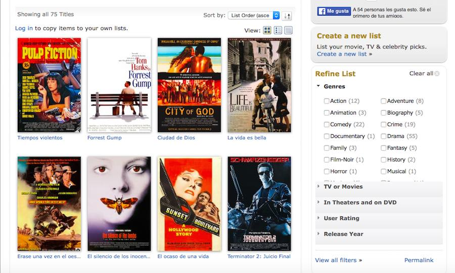 IMDB Netflix