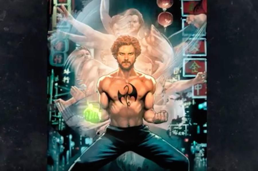 ¡Ya existe portada para la serie de Iron Fist y deben verla!