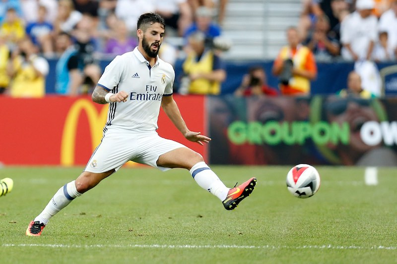 Isco de Real Madrid