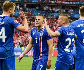 Islandia triunfo ante Finlandia