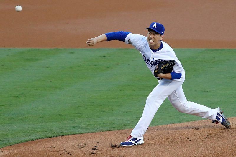 Kenta Maeda Dodgers