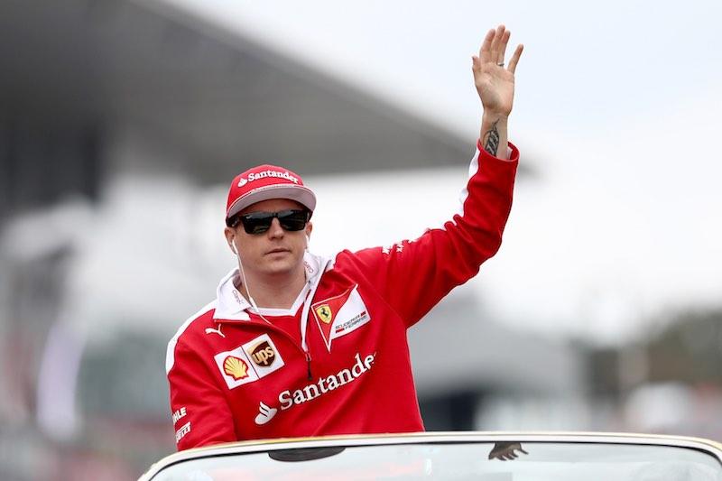 Kimi Ferrari Formula Uno